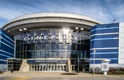 Colossus Laval Movie Theater royalty free stock photos