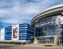 Colossus Laval Movie Theater royalty free stock photography