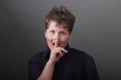 Renard astucieux - enfant futé - portrait images libres de droits