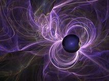 Renascimento de um buraco negro Imagem de Stock