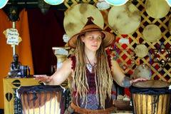 Renascimento Faire de Bristol do executor Fotos de Stock Royalty Free