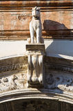 Renata di Francia Palace. Ferrara. Emilia-Romagna. Italia. Imágenes de archivo libres de regalías