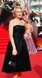 Renata Litvinova at Moscow Film Festival Stock Image