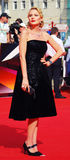 Renata Litvinova at Moscow Film Festival Royalty Free Stock Image