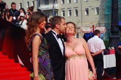 Renata Piotrovsky at Moscow Film Festival Royalty Free Stock Image