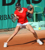 Renata VORACOVA (CZE) at Roland Garros 2010 Royalty Free Stock Images