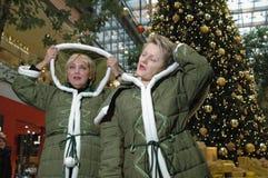 Renate Kuenast и Клаудия Roth Стоковая Фотография