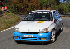 Renaul Clio   during the 32 ° Rally Lantern Royalty Free Stock Photography