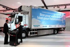 Renault电卡车 免版税库存照片