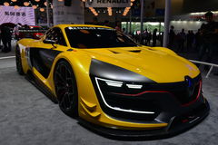 Renault Ρ S ράλι 01 Στοκ Εικόνες