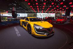 Renault 2014 резвится r S 01 Стоковая Фотография RF