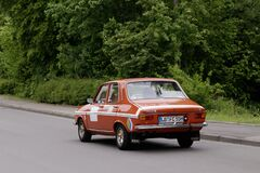 Free Renault 12 TS French Oldtimer Car Royalty Free Stock Image - 184761826