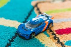 Renault Alpina-Spielzeugauto Stockbilder