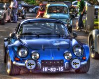 Renault Alpine (1971) Royalty Free Stock Photos