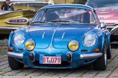 Renault Alpine - Old timer Stock Photography