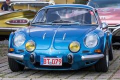 Renault Alpine - Oude tijdopnemer Stock Fotografie