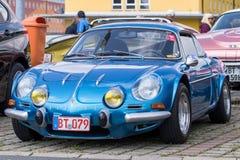 Renault Alpine - temporizzatore anziano Immagini Stock