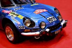 Renault alpino A 110 - macchina da corsa 1300 Immagini Stock Libere da Diritti