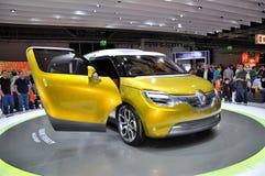Renault, auf IAA Frankfurt 2011 Stockbild