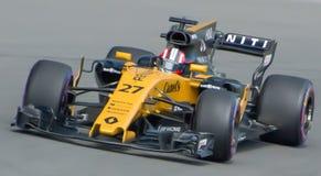 Renault-bevoegdheden omhoog bij 2017 Canadese Gran Prix royalty-vrije stock fotografie