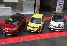 Renault bilar Arkivbild