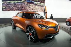 Renault Captur concept Royalty Free Stock Image