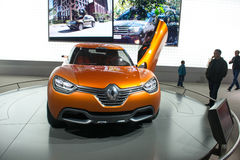 Renault Captur concept Royalty Free Stock Images