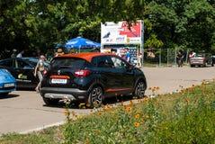 Renault captur Stock Photos