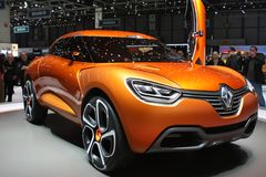 Renault Captur Prototype Stock Images