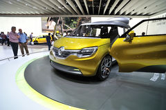 Renault car concept Stock Image