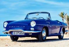 Renault Caravelle na plaży Obraz Stock