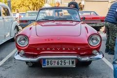 Renault Caravelle pendant les années 1958-1968 photo stock