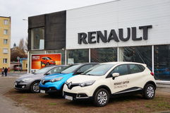 Renault cars Royalty Free Stock Photo