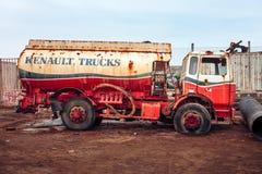 Renault cistern scrap Stock Photography