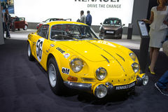 Renault classic alpine Royalty Free Stock Images