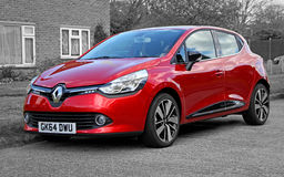 Renault clio car Stock Images