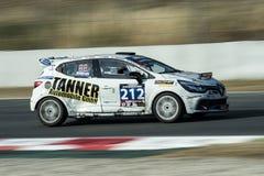 Renault Clio Cup IV 24 ore di Barcellona Trofeo Fermi Velez Fotografia Stock Libera da Diritti
