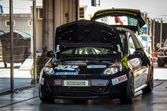 Renault Clio Cup tävlings- bil Fotografering för Bildbyråer