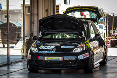 Renault Clio filiżanki bieżny samochód Obraz Stock