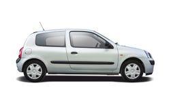 Renault Clio ha isolato su bianco Fotografia Stock Libera da Diritti