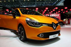 Renault Clio 2014 fotos de stock royalty free