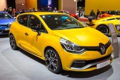 Renault Clio R S Trofé för 220 EDC fotografering för bildbyråer