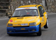 Renault Clio race car Stock Photography