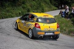 Renault Clio Racing Fotografia Stock Libera da Diritti