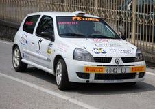 Renault Clio Racing Immagini Stock Libere da Diritti