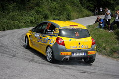 Renault Clio  racing Royalty Free Stock Photo