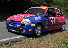 Renault Clio racing Stock Images