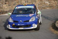Renault Clio Rally bil Arkivfoto