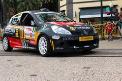 Renault Clio Rally car Stock Image
