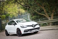 Renault Clio RS Cup 2014 Royalty Free Stock Photos